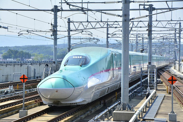 東北新幹線のWi-Fi