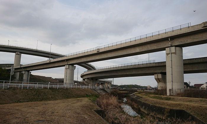 バイパス道路の建設