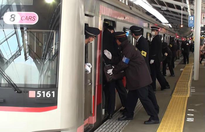 東横線の高い乗車率
