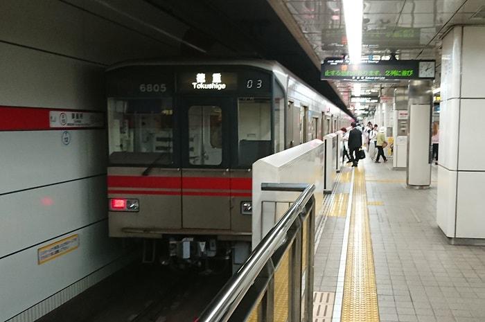 桜通線の朝の混雑の時間帯