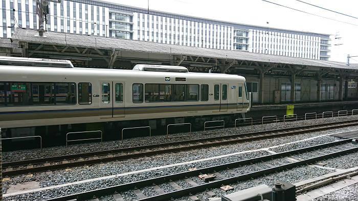 混雑する京都駅