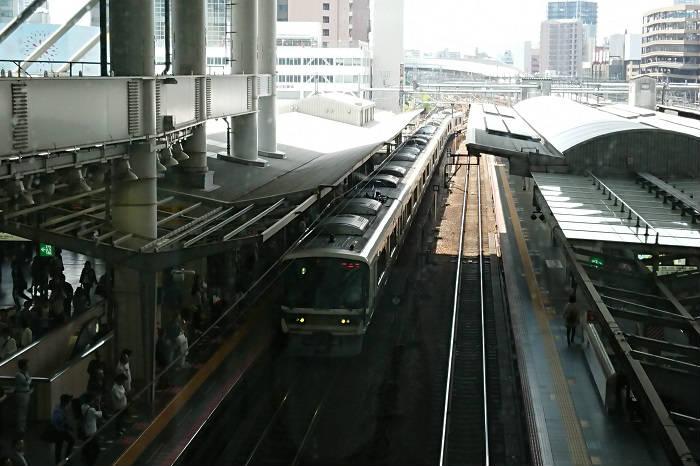 東京と大阪の電車の混雑レベルの違い