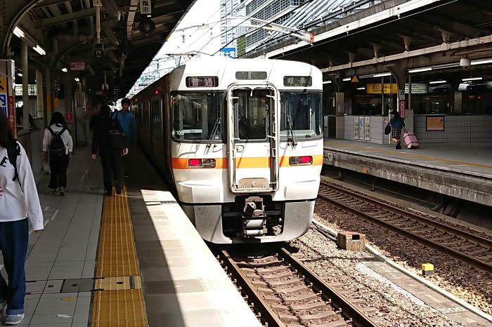 東海道線(JR東海区間)のトイレの設置状況