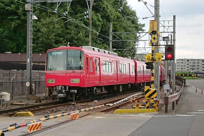 名鉄犬山線の通勤ラッシュの混雑