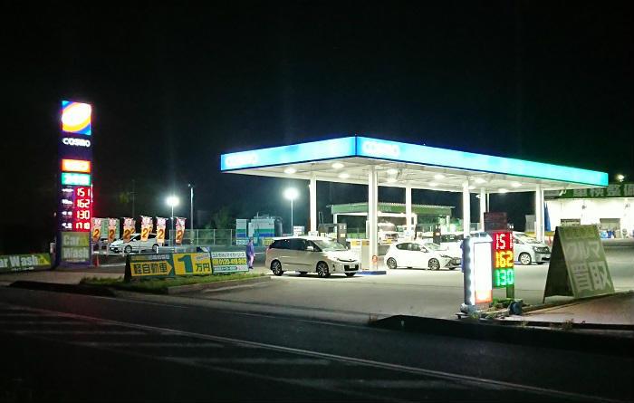 競争が激しいガソリンスタンド密集地