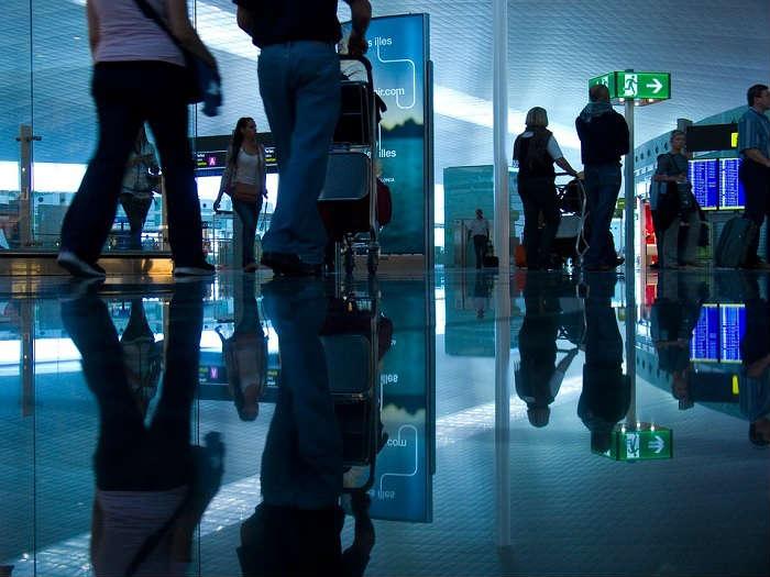 地方都市の空港のグランドスタッフの難易度