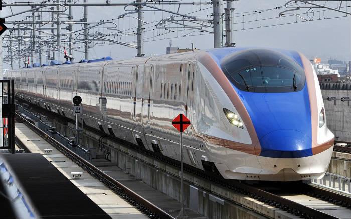 上越新幹線のWi-Fi有りのE7系