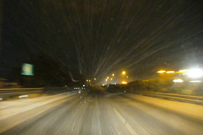 東名の御殿場付近の雪の降りやすさ