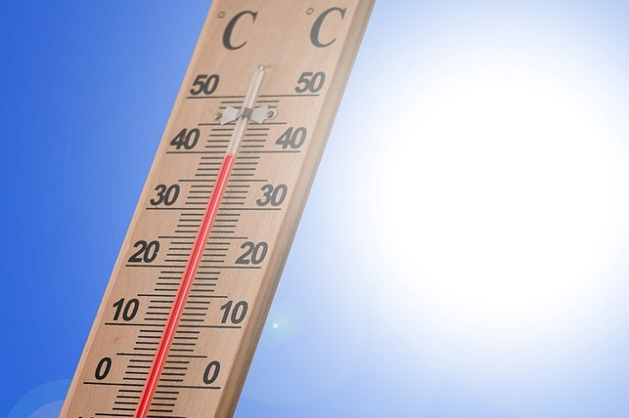 冷房必須の6月の最高気温