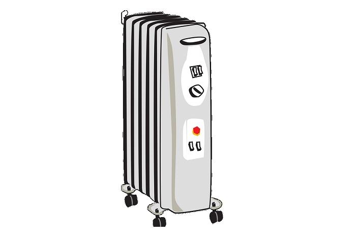 オイルヒーターの電気代