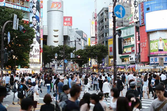大都市部への人口集中