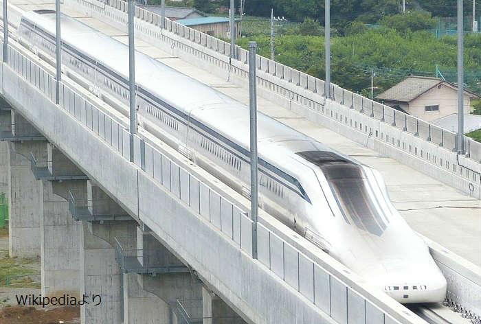 品川駅発着のリニア中央新幹線