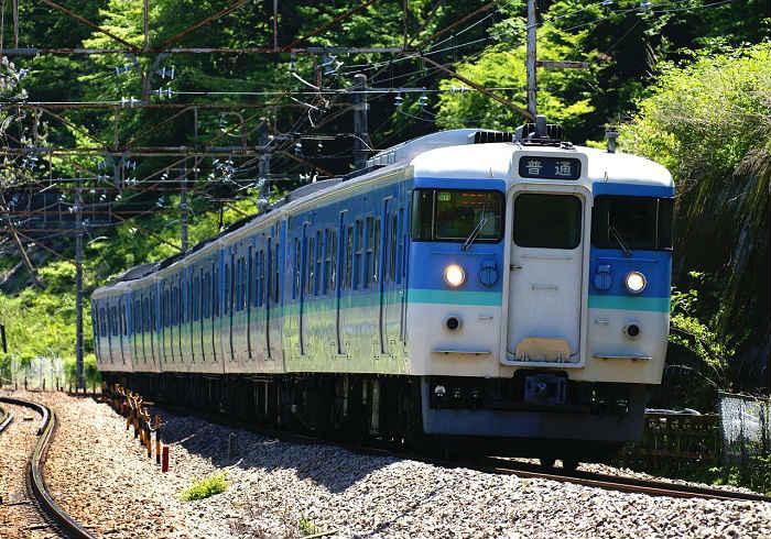JR東日本の115系