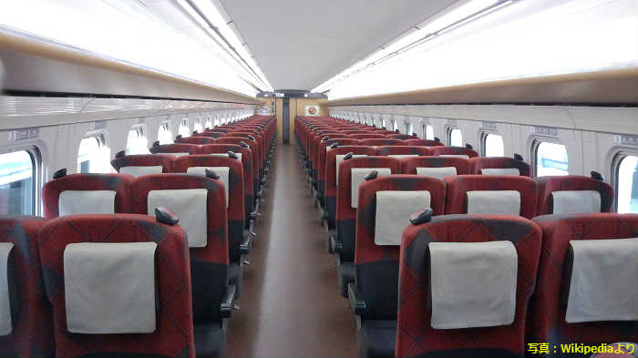 北陸新幹線の座席タイプ
