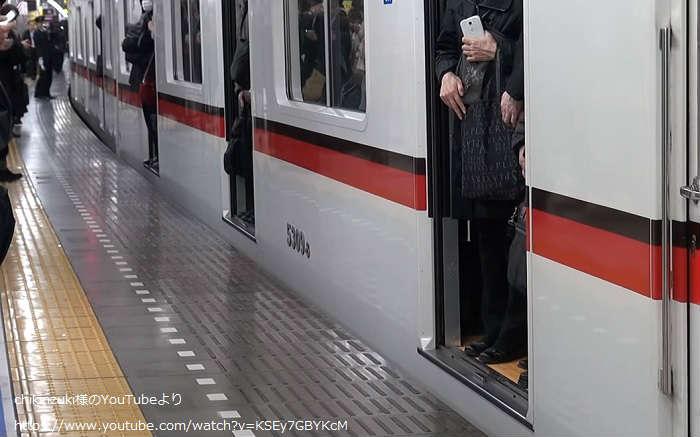京成押上線の帰宅ラッシュ(快速特急)