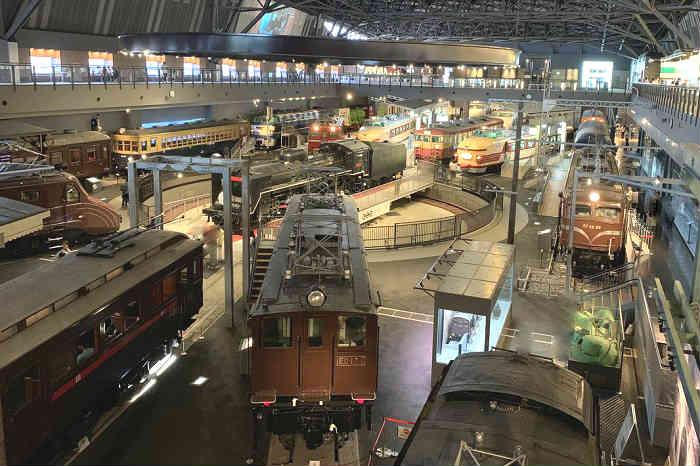 鉄道博物館(さいたま市大宮区)