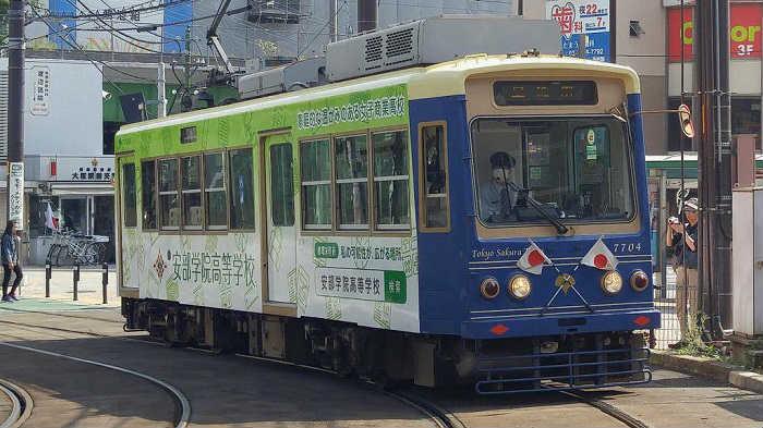 軌道法に基づく路面電車