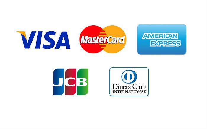 自動券売機で使えるクレジットカード