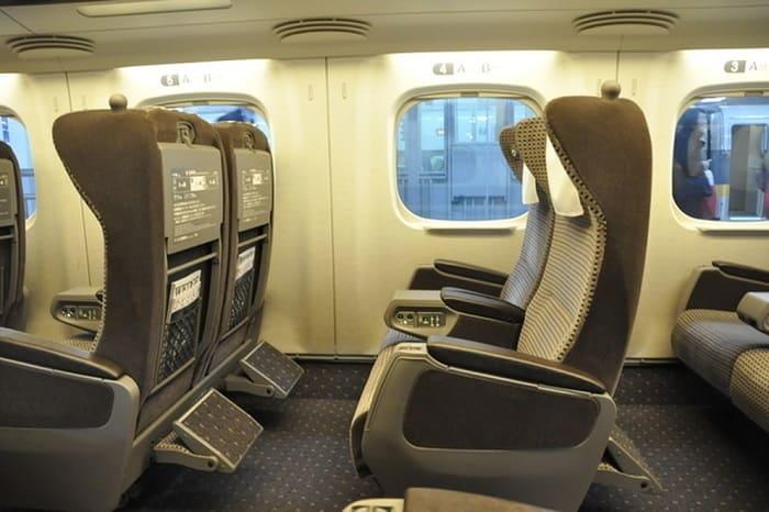 グリーン車と普通車指定席