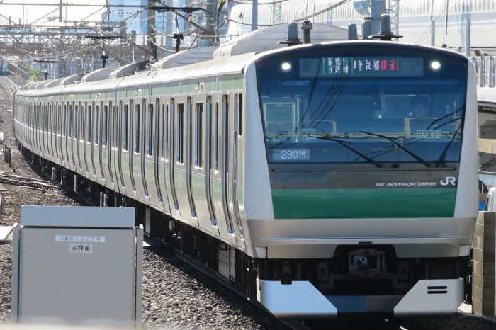 相鉄・JR直通線の区間別の混み具合