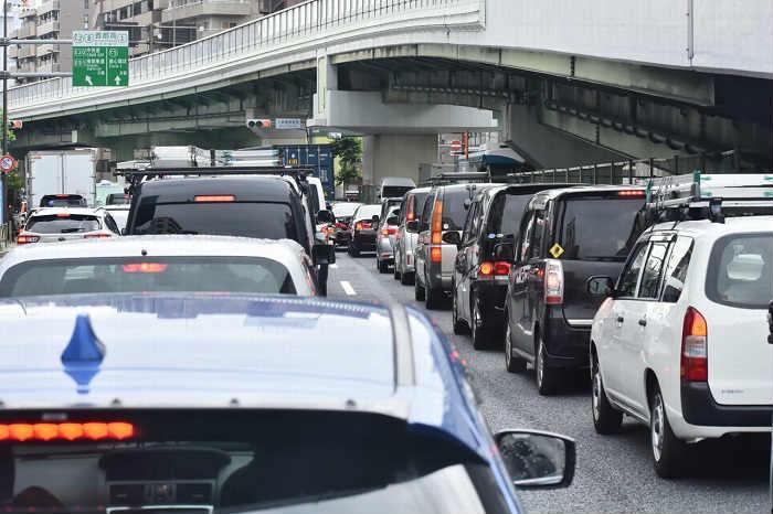周辺道路の渋滞