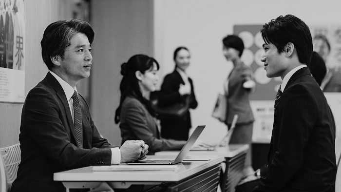 新卒採用選考を受ける大学生