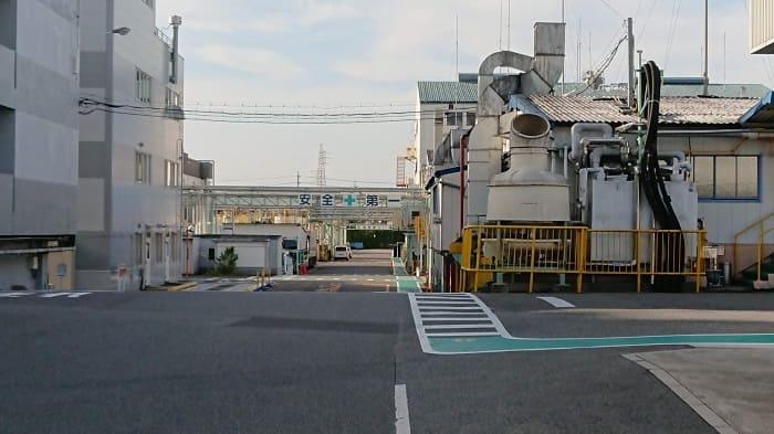 関西ペイントの工場